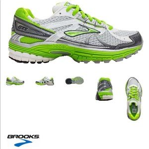 Brooks Adrenaline GTS 13 White/Anthracite/ Green